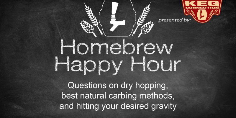 Questions on dry hopping, best natural carbing methods, and hitting your desired gravity — HHH Ep. 49