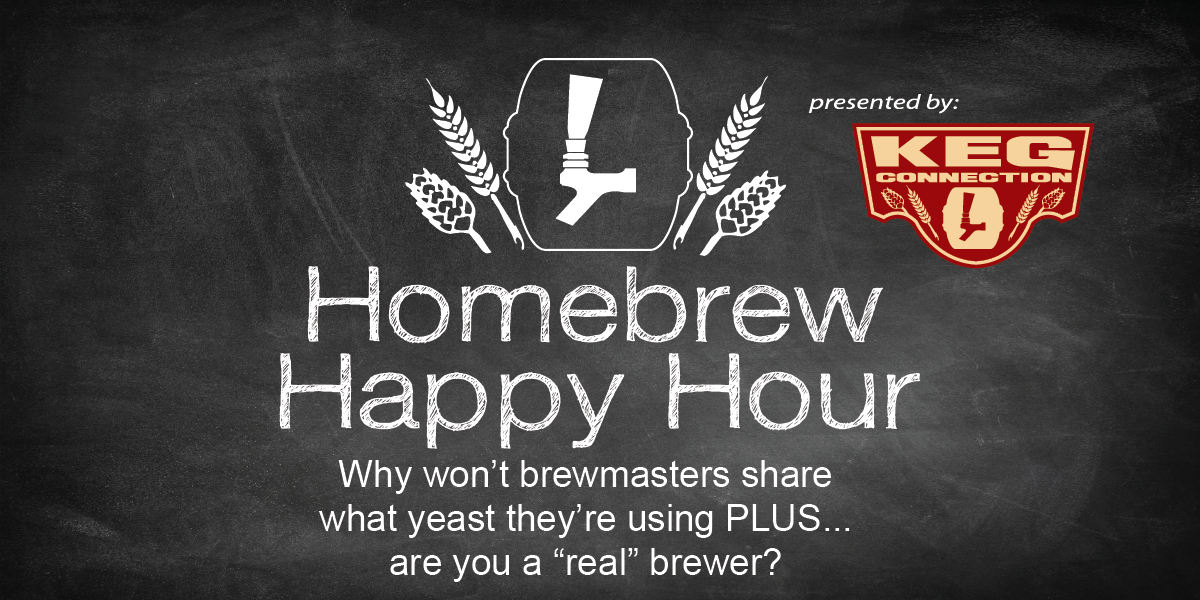 "Why won't brewmasters share what yeast they use PLUS… are you a ""real"" brewer? — HHH Ep. 060"