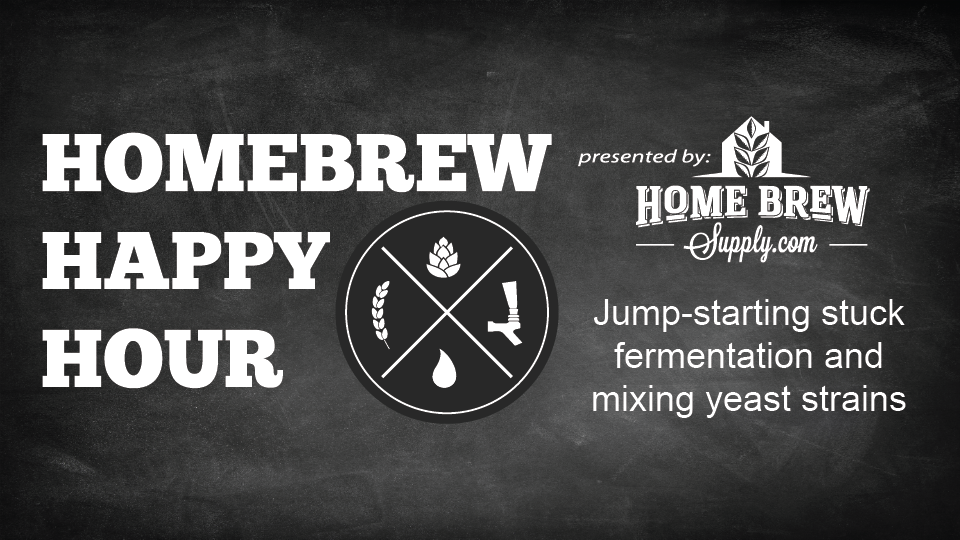 Jumpstarting stuck fermentation and mixing yeast strains — HHH Ep. 083