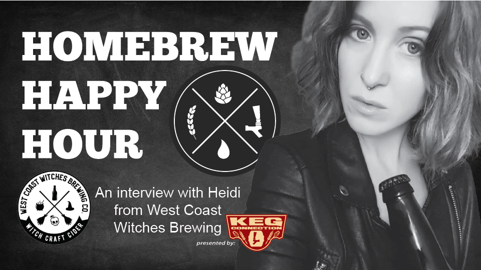 A conversation about cider with Heidi from West Coast Witches Brewing! — HHH Ep. 101
